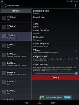 Shabbos Alarm скриншот 10