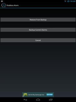 Shabbos Alarm скриншот 14