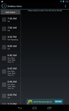 Shabbos Alarm скриншот 16
