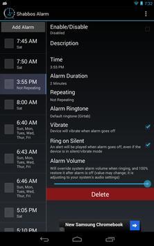 Shabbos Alarm скриншот 18