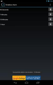 Shabbos Alarm скриншот 20
