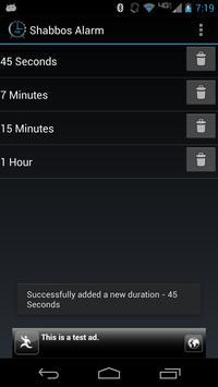Shabbos Alarm скриншот 5