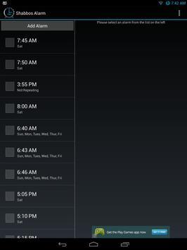 Shabbos Alarm скриншот 8