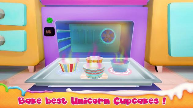 Unicorn Cake Bakery Chef : Food Maker Baking Game screenshot 4