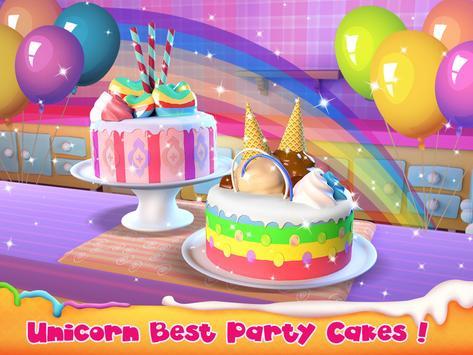 Unicorn Cake Bakery Chef : Food Maker Baking Game screenshot 5