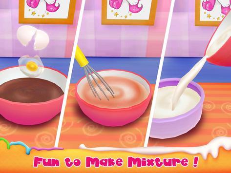 Unicorn Cake Bakery Chef : Food Maker Baking Game screenshot 7