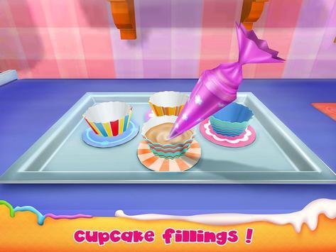 Unicorn Cake Bakery Chef : Food Maker Baking Game screenshot 13