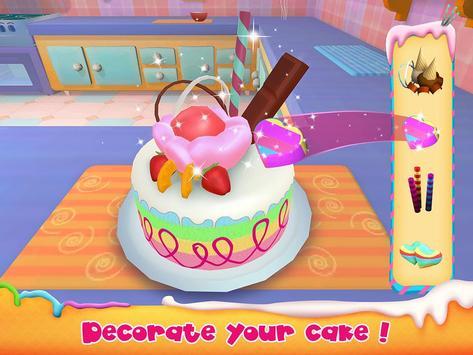Unicorn Cake Bakery Chef : Food Maker Baking Game screenshot 11