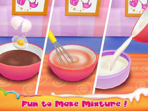 Unicorn Cake Bakery Chef : Food Maker Baking Game screenshot 12