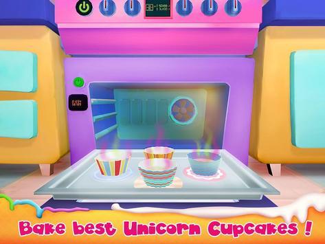 Unicorn Cake Bakery Chef : Food Maker Baking Game screenshot 14