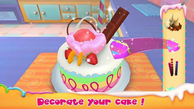 Unicorn Cake Bakery Chef : Food Maker Baking Game screenshot 1