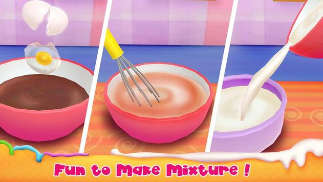 Unicorn Cake Bakery Chef : Food Maker Baking Game screenshot 2