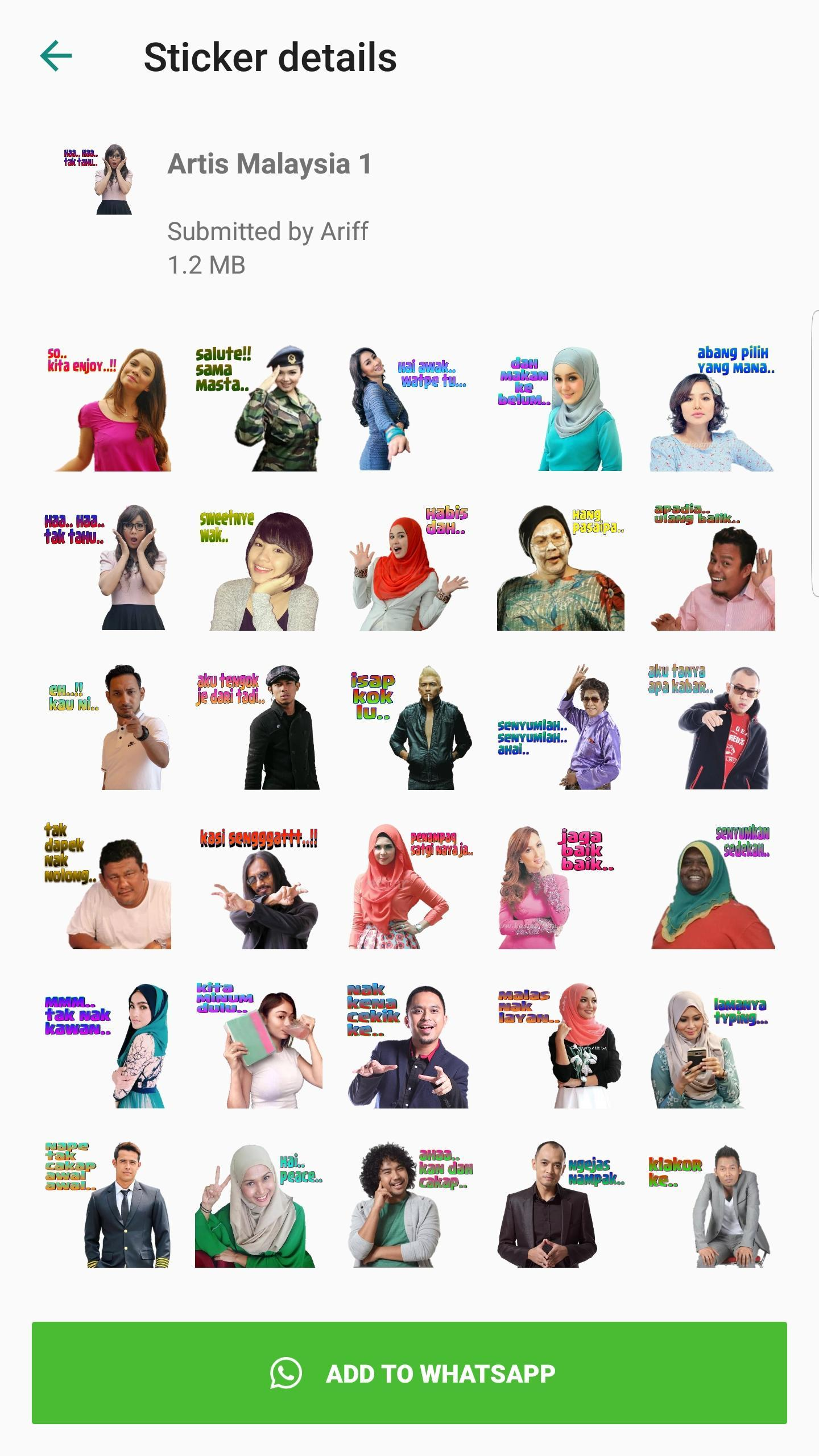Malaysia Stickers For Whatsapp Wasticker Apps For Android Apk