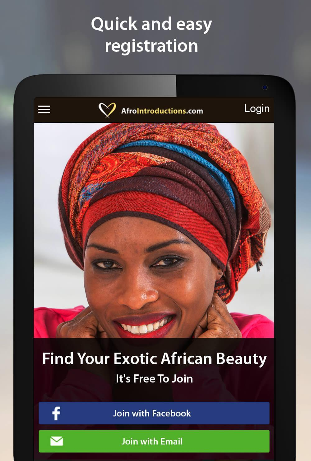 Up afrointroduction sign Afrointroduction login