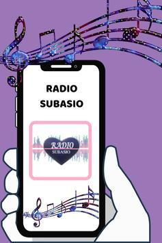Radio Subasio free Radio fm live Italy poster