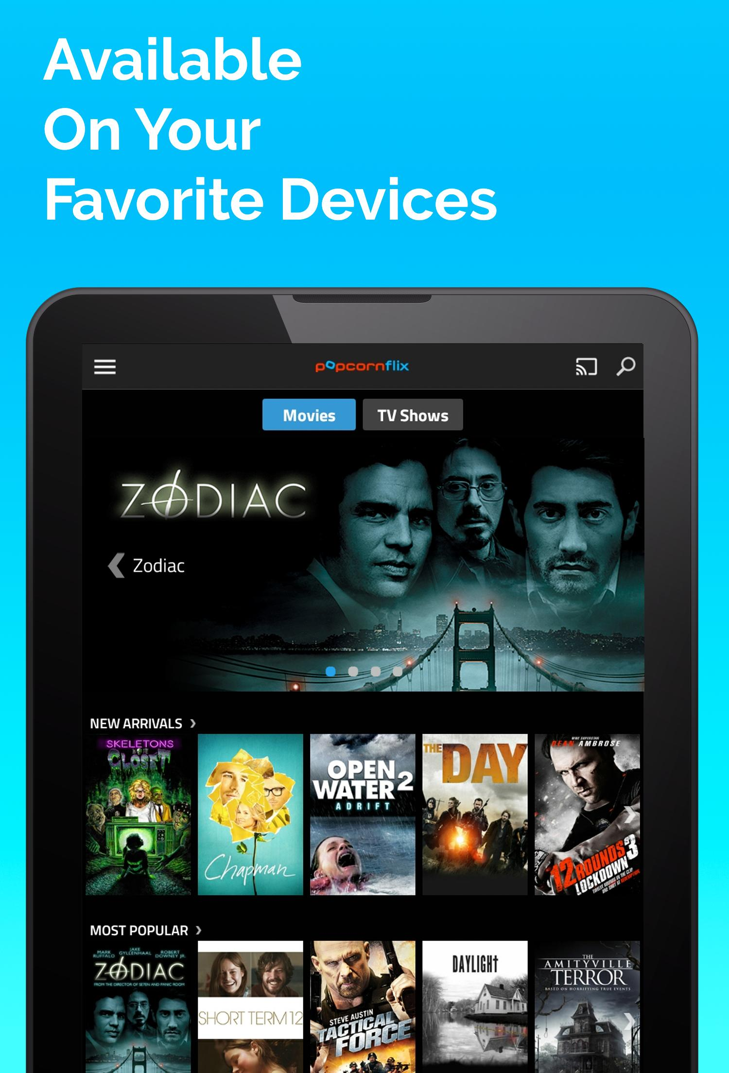 Popcornflix™- Movies TV Free for Android - APK Download