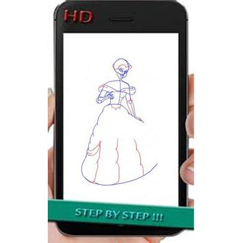 how to draw princess screenshot 2