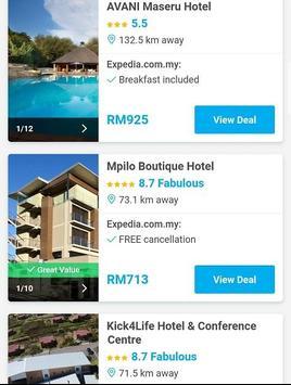 Booking Lesotho Hotels screenshot 1