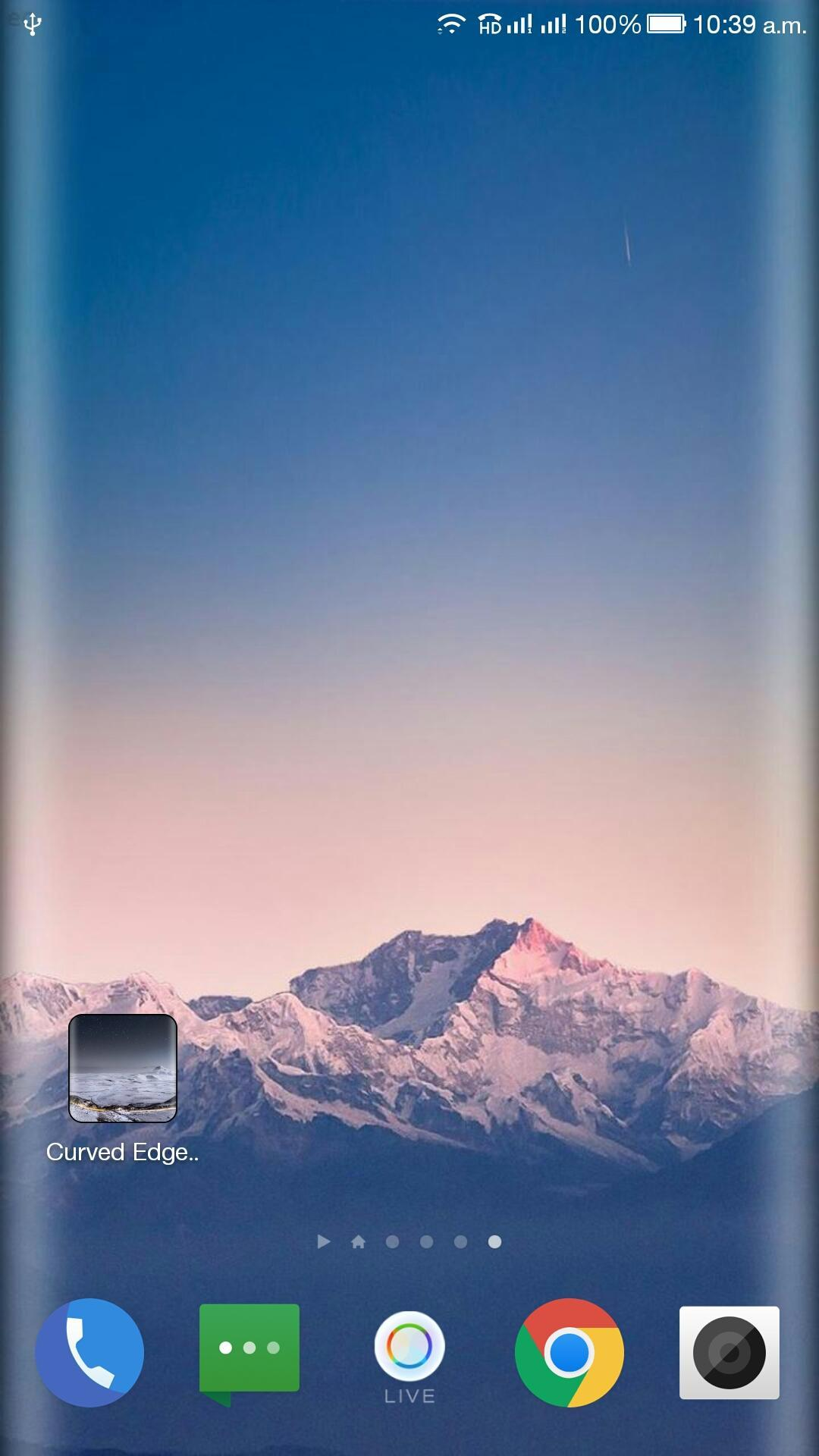 Curved Edge Wallpaper for Android - APK ...