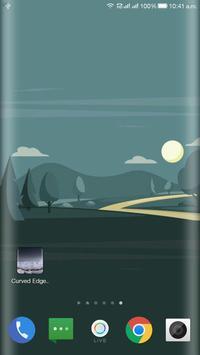 Curved Edge Wallpaper screenshot 6