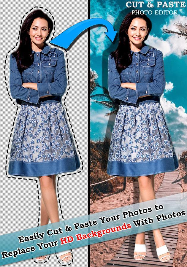 Auto Cut Out : Photo Cut Paste Background Removal poster