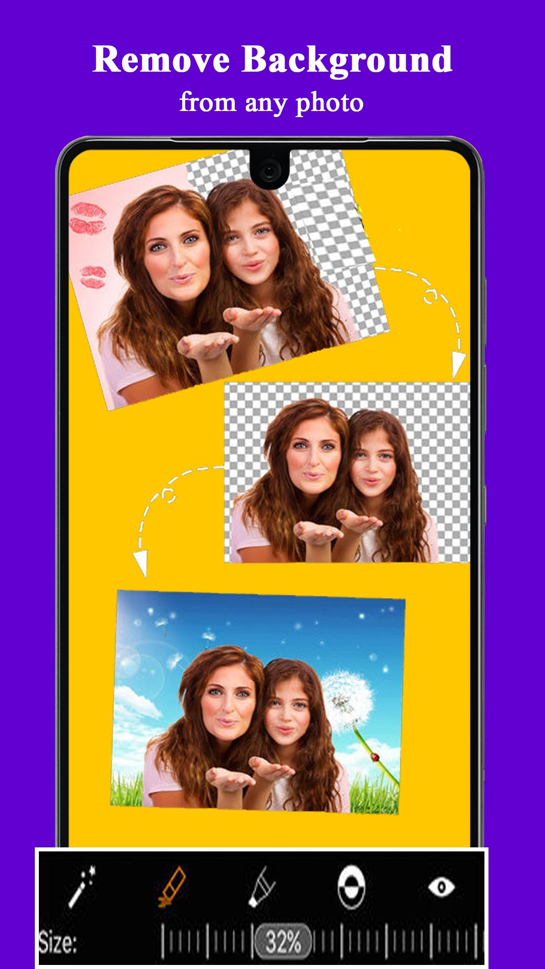 background eraser Cut Cut - Cutout & Photo editor for Android - APK
