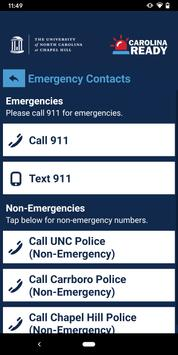 UNC Carolina Ready Safety 截圖 1