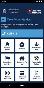 UNC Carolina Ready Safety 截圖 4