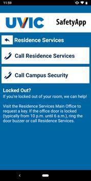 UVic SafetyApp screenshot 5