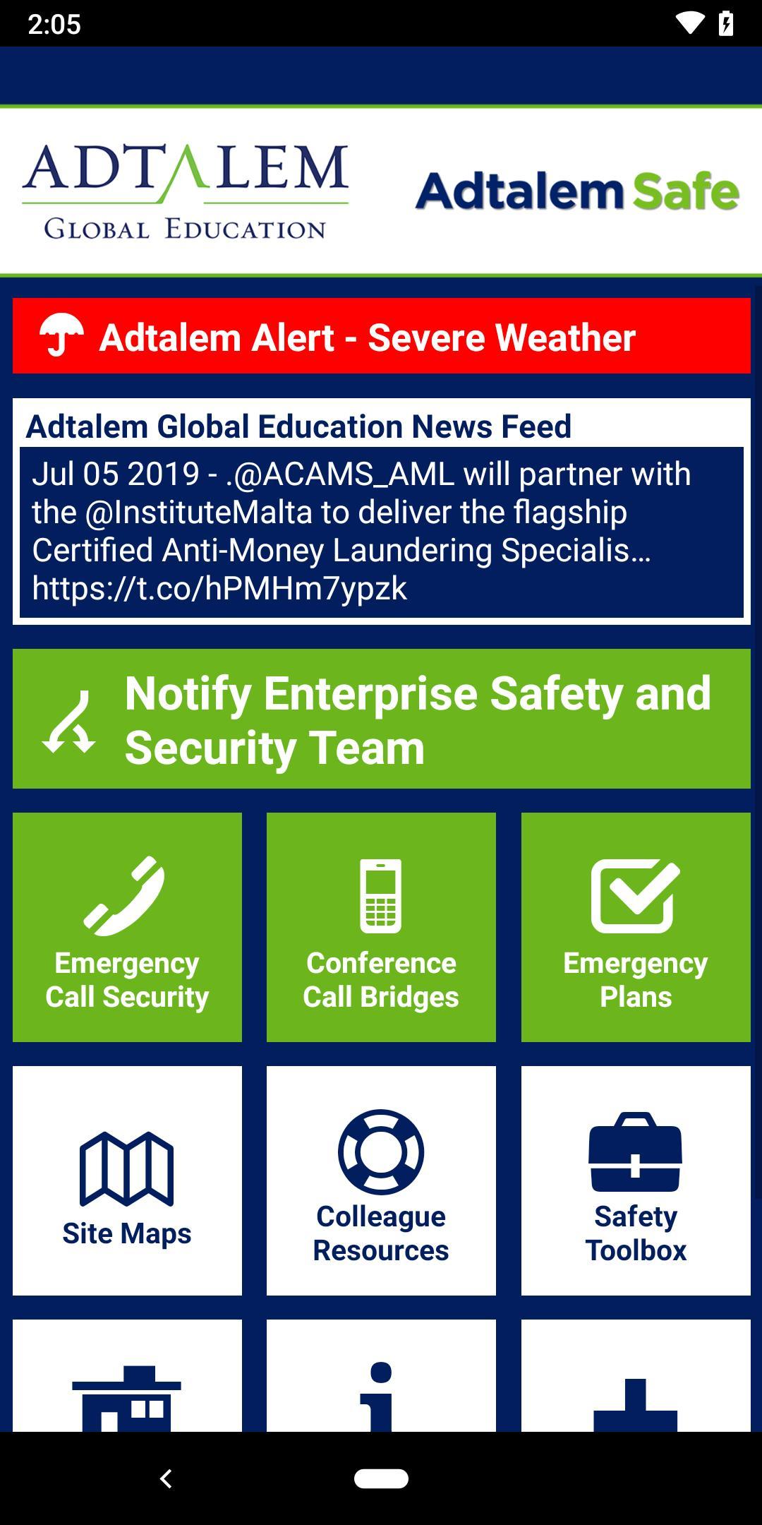 Adtalem Safe for Android - APK Download