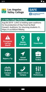 LAVC SAFE poster