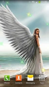Angels Live Wallpaper poster