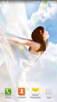 Angels Live Wallpaper screenshot 2