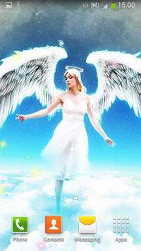 Angels Live Wallpaper screenshot 5