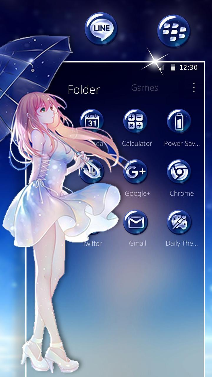 Dancing Roblox Galaxy Girl Cute Anime Galaxy Girl Theme For Android Apk Download
