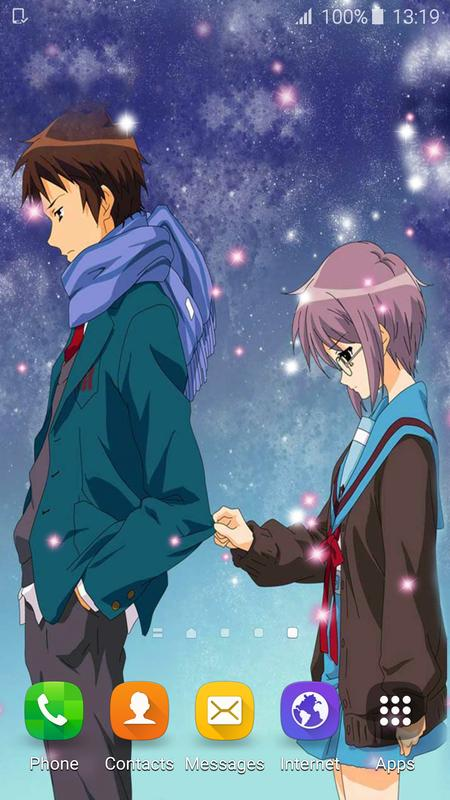 Anime Couple Live Wallpaper For Android Apk Download