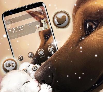 Cute puppy dog theme screenshot 4
