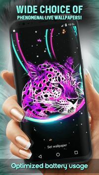 Neon Animals Wallpaper screenshot 6