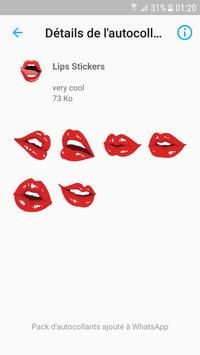 love lips stickers for whatsapp screenshot 1
