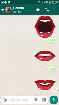love lips stickers for whatsapp screenshot 2