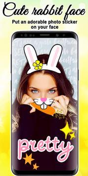 Cute Rabbit Photo screenshot 10