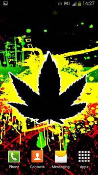 Rasta Weed Live Wallpaper screenshot 6