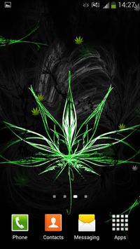 Rasta Weed Live Wallpaper screenshot 8