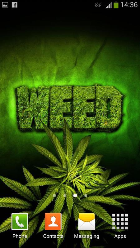 ... Weed Live Wallpaper screenshot 4 ...