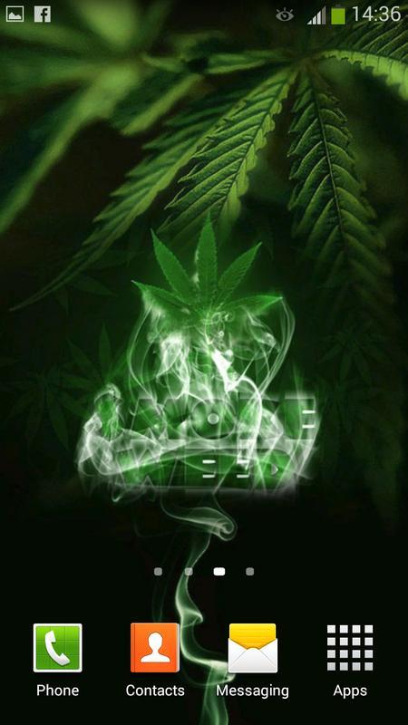 ... Weed Live Wallpaper screenshot 8 ...