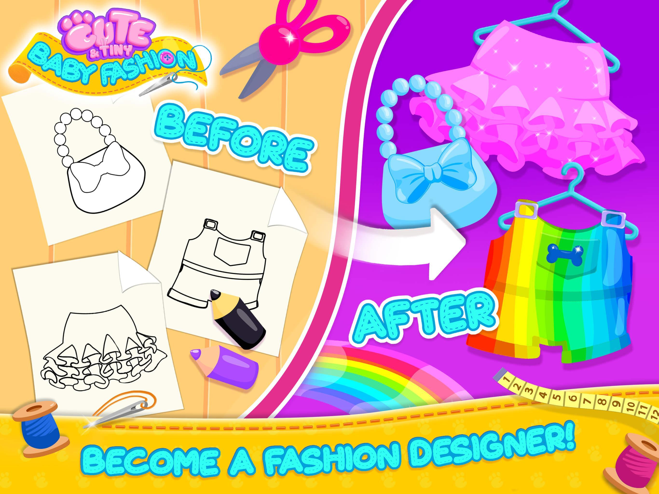 Cute Tiny Baby Fashion Design Dress Up Fun For Android Apk Download