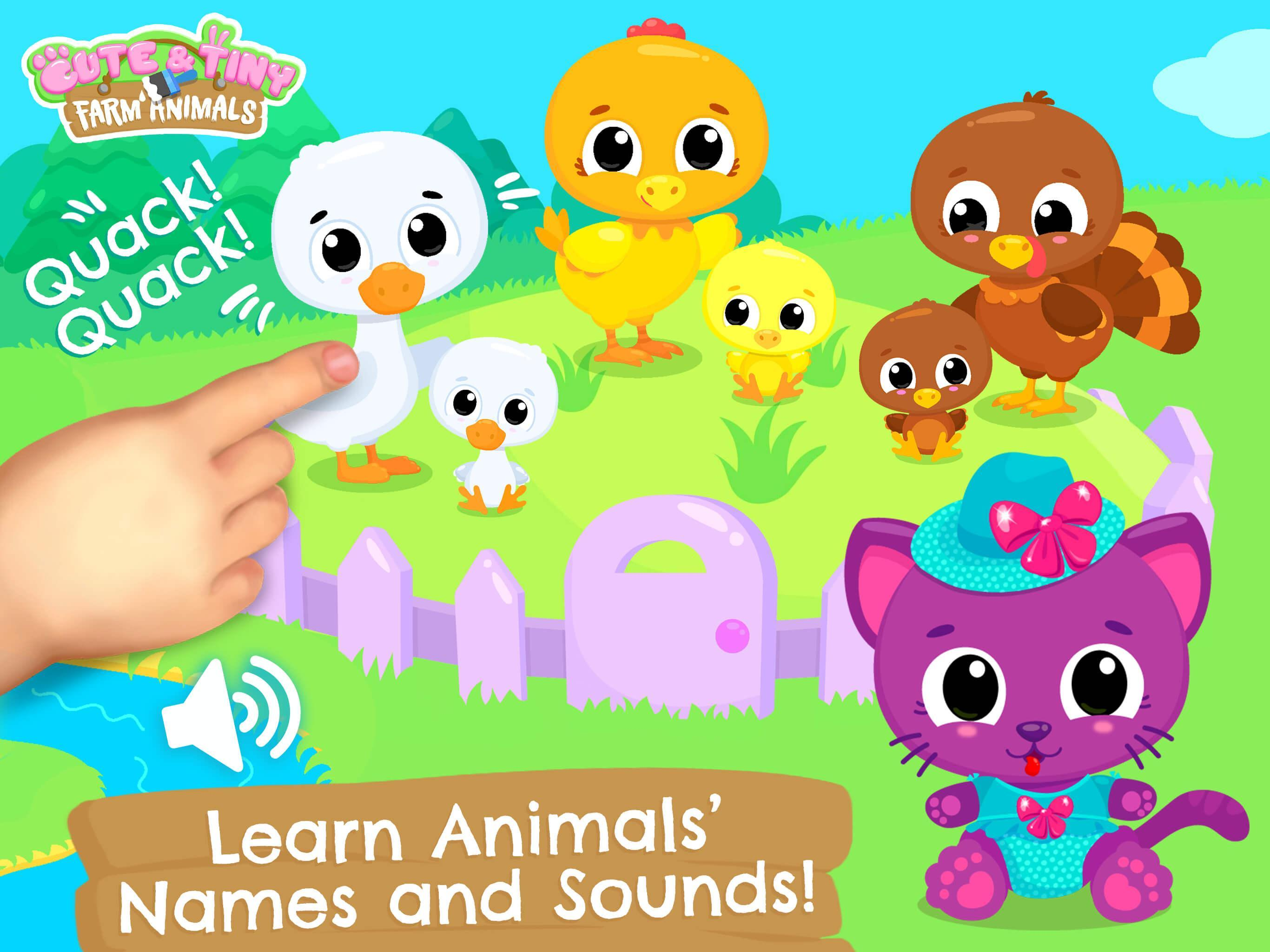 Cute & Tiny Farm Animals for Android - APK Download