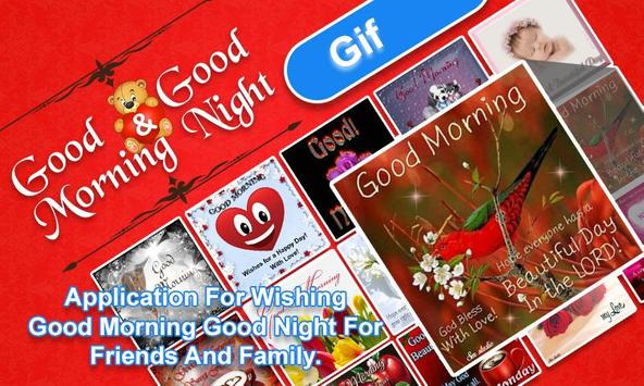 Good Morning & Good Night Wishes poster