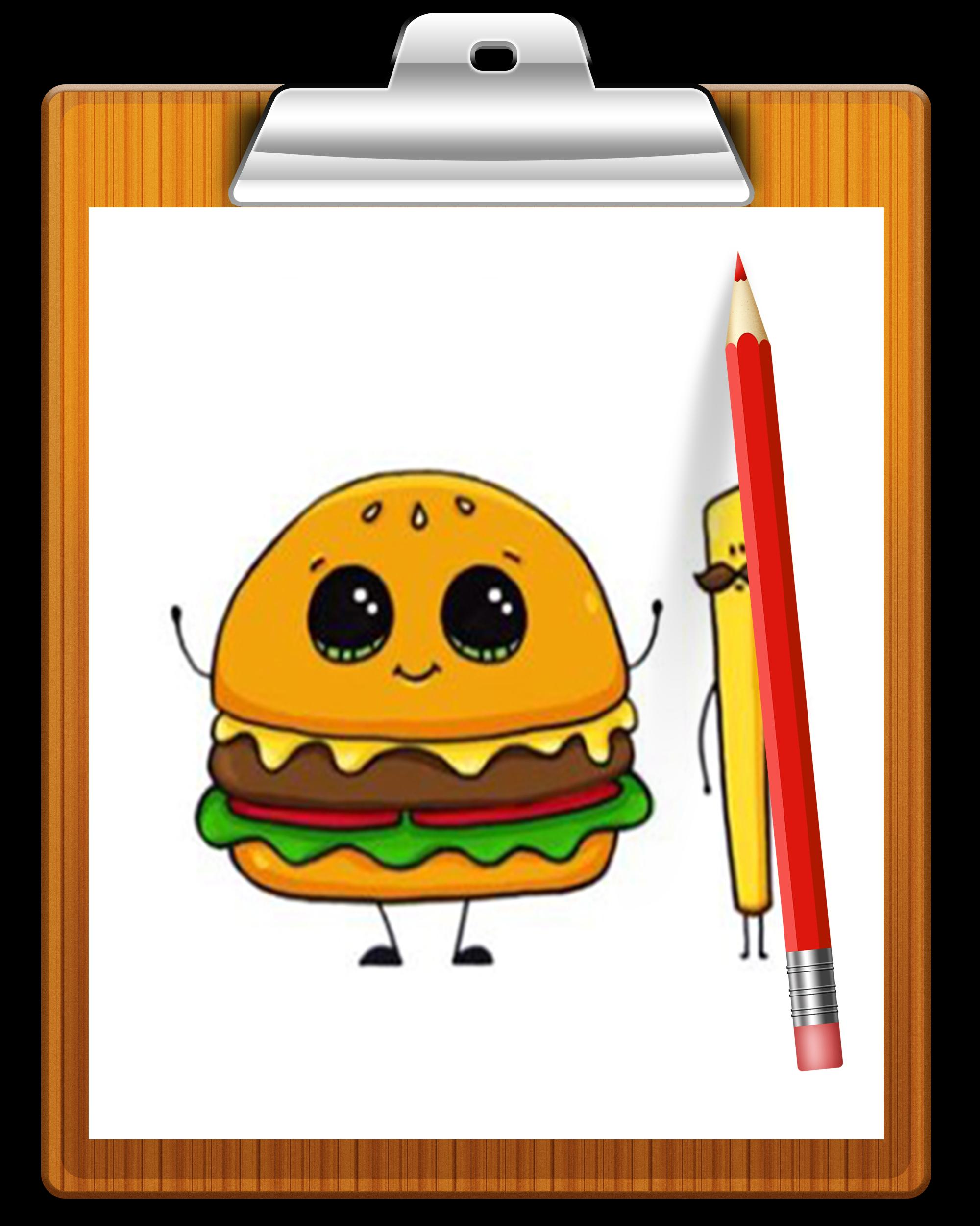 How To Draw cute Food for Android   APK Download