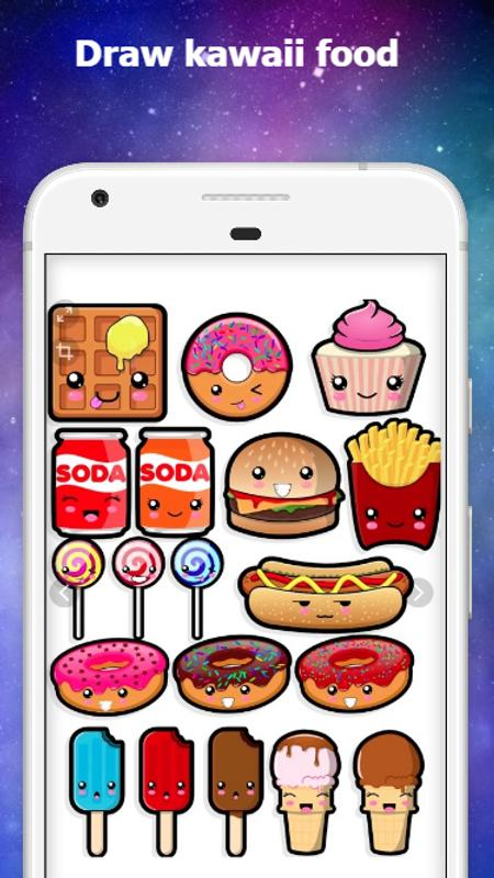 Cute Drawings Draw Kawaii Step By Step For Android Apk Download
